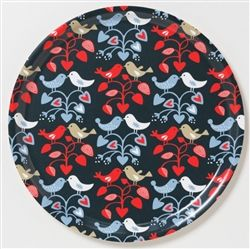 Klippan Lovebirds birch wood trays, available now at Northlight Homestore