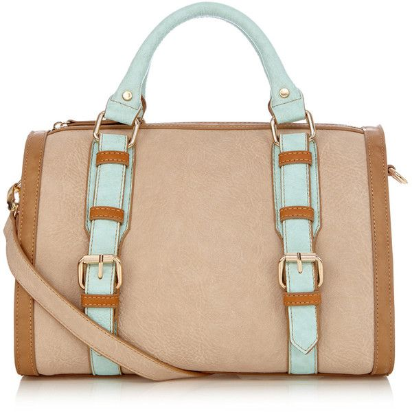 OASIS Betty Colour Block Barrel Bag (505 UAH) ❤ liked on Polyvore featuring bags, handbags, purses, accessories, bolsas, multi, colorblock purse, color block purse, color block handbag and oasis bags