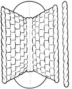 Cute Basket Template for your Moses story or when Jesus took Fish & Bread…