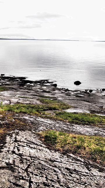 Näsijärvi lake in Tampere, Finland. Pictured from Kauppi forrest. #tampereblog