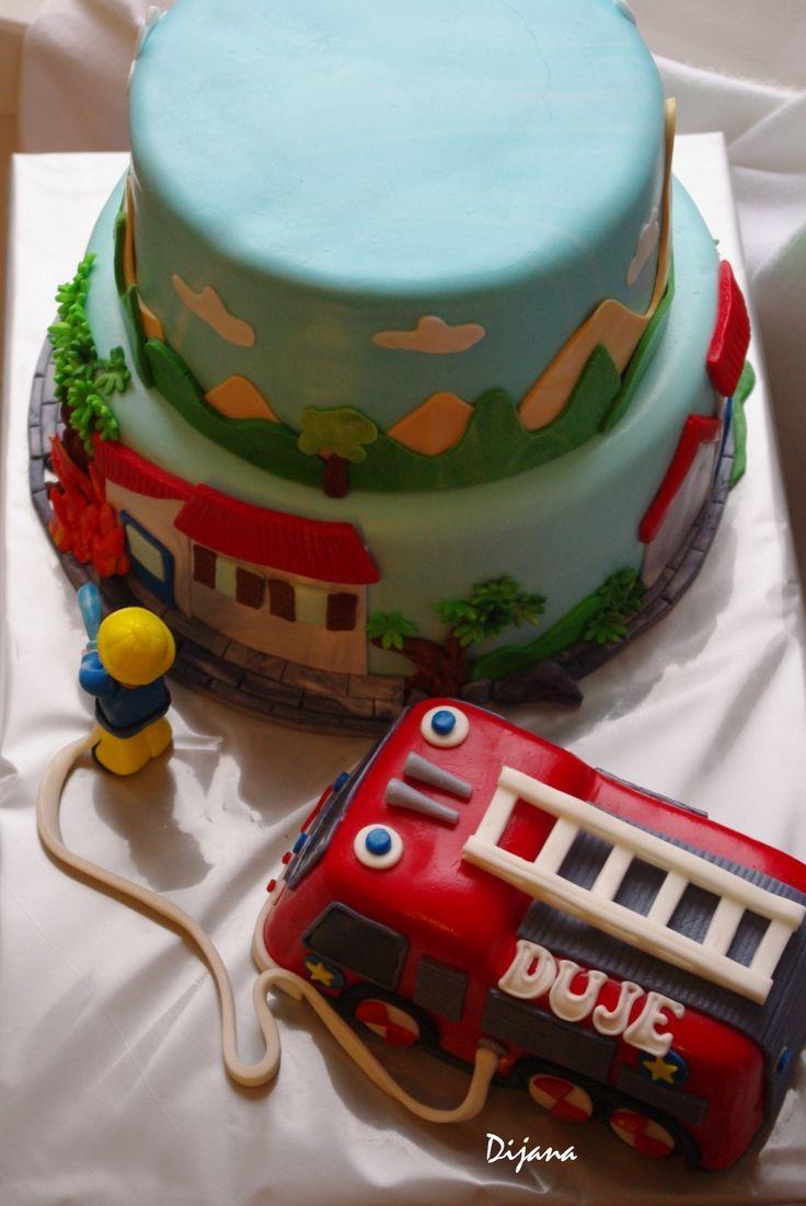 fireman cake, za Duju