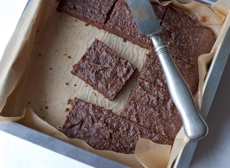 Coconut Flour Brownies  #ComfyBelly