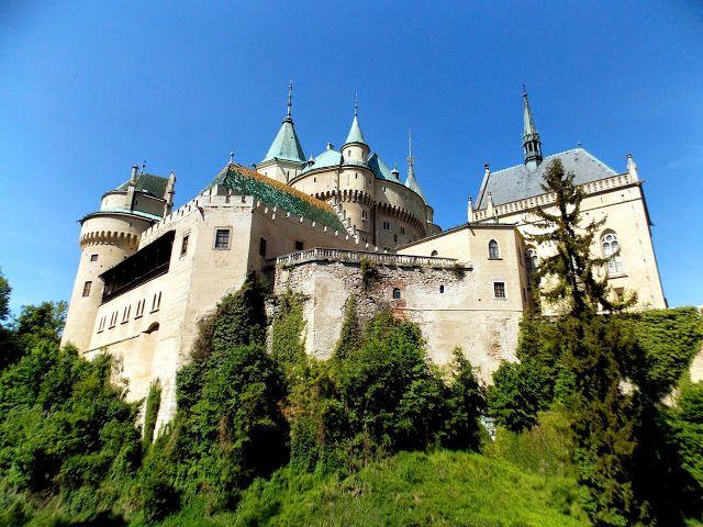 Bojnice castle, Slovakia. Slovensko