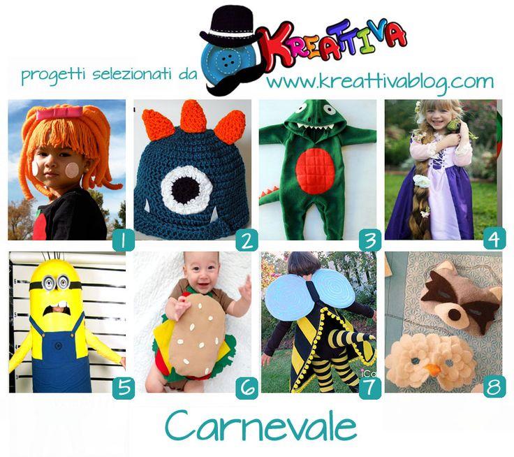 Kreattivablog: 16 idee per un Carnevale handmade [raccolta]