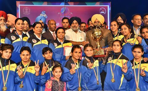 Winning moment for Indian men and women's team! Kudos to Kabaddi.  #6thWorldCupKabaddi #Win #Indian #Men #Women #Team #Punjab #Proud