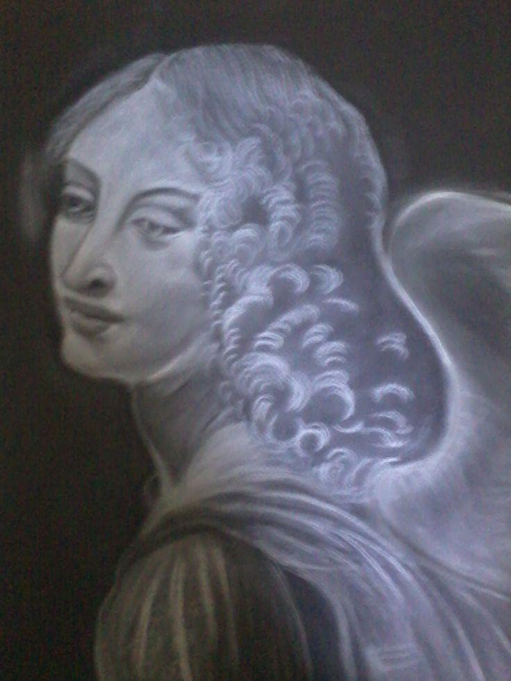 charcoal on paper by Litsa Raftopoulou