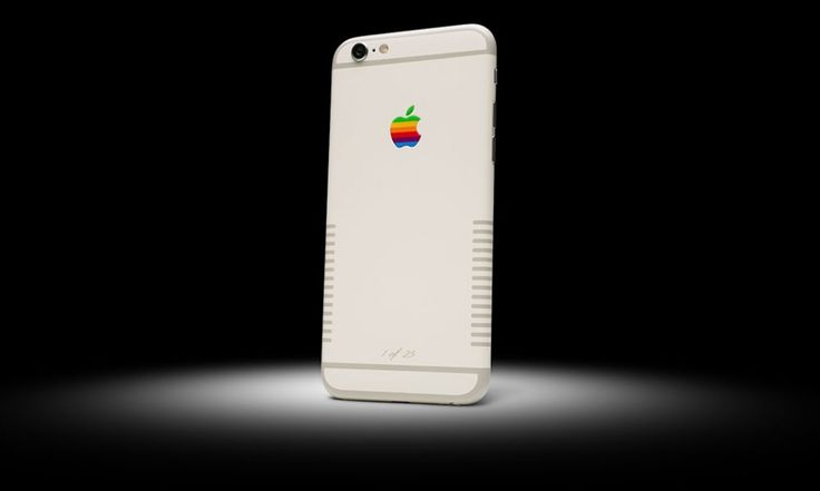 iPhone 6 Retro by Colorware. Inspired by the Apple IIe