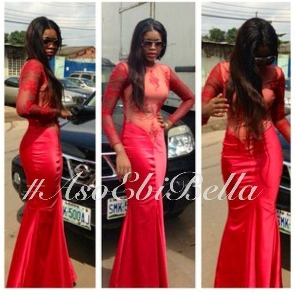 Asoebibella akara styles modern style bellanaija styles red wedding