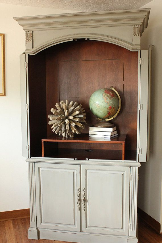 Painted Cabinet best 20+ painted entertainment centers ideas on pinterest