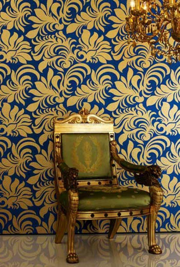 les 25 meilleures id es de la cat gorie papier peint baroque sur pinterest table baroque. Black Bedroom Furniture Sets. Home Design Ideas