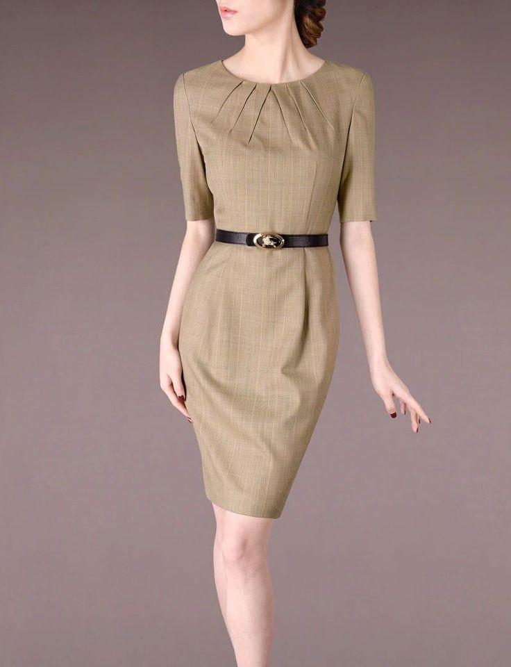 Khaki Business Suit Women Clothing Chieflady