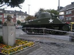 Bastogne, Belgium  - The Siege of Bastogne was an engagement in December 1944 between American and German forces at the Belgian town of Bastogne, as part of the larger Battle of the Bulge