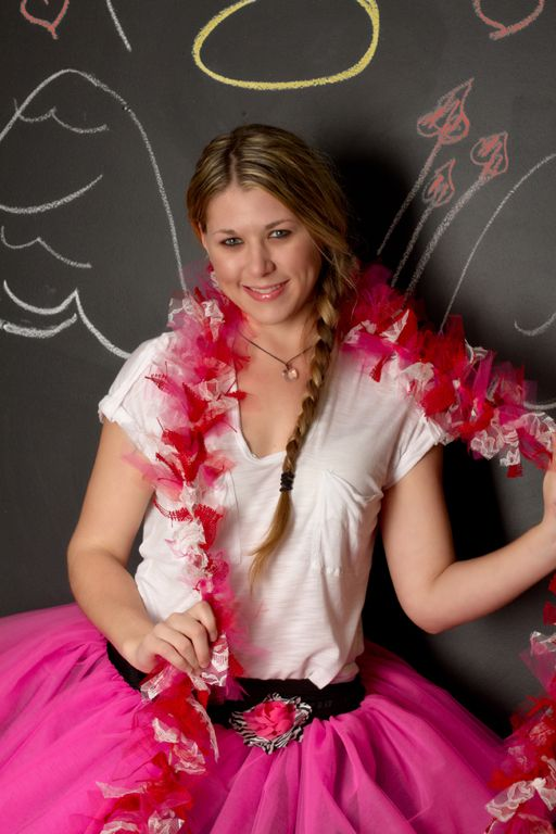 """""""Chalkboard Angel"""" by Portrait Creations photography studio in Charlotte, NC."""