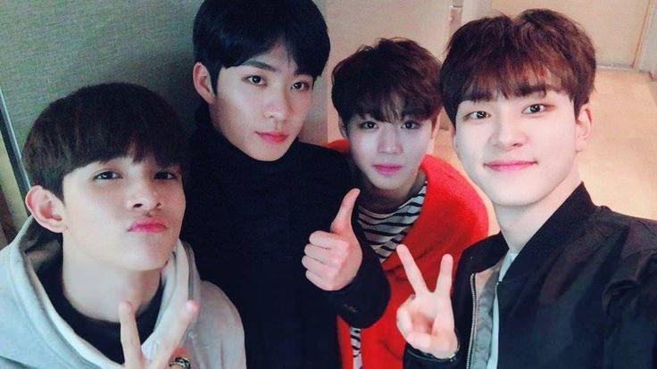 Samuel (김사무엘), Park Hyun Min (변현민) , Park Ji-hoon (박지훈) and Jeong Hyo Jun (정효준)