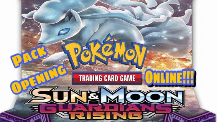 Pokemon TCG Online Pack Opening: Sun And Moon Guardians Rising