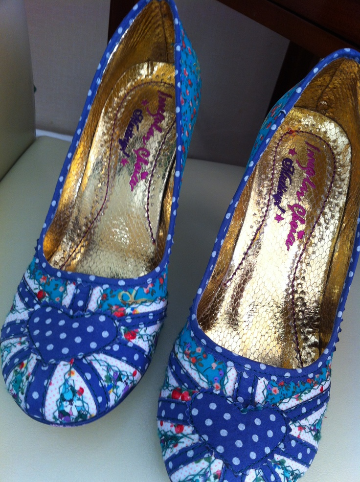 My latest Irregular Choice purchase - Patty in green/blue