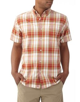 GO EVERYWHERE OXFORD PLAID SHORT SLEEVE available at www.lockside.com