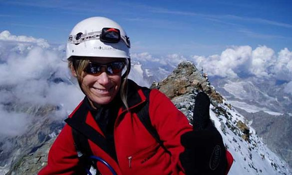 Meet Kelly, the first heart transplant patient to become a mountain climber.