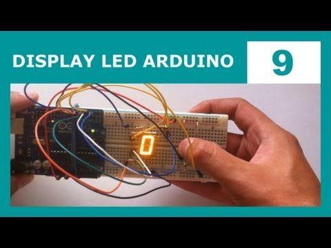 Curso de Arduino 9: Display LED de 7 Segmentos - YouTube