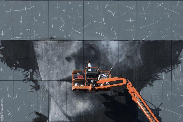 The Crystal Ship: Work In Progress by Ricky Lee Gordon in Ostend, Belgium | StreetArtNews