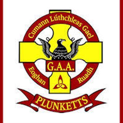 St. Oliver Plunkett Eoghan Ruadh GAA Club crest