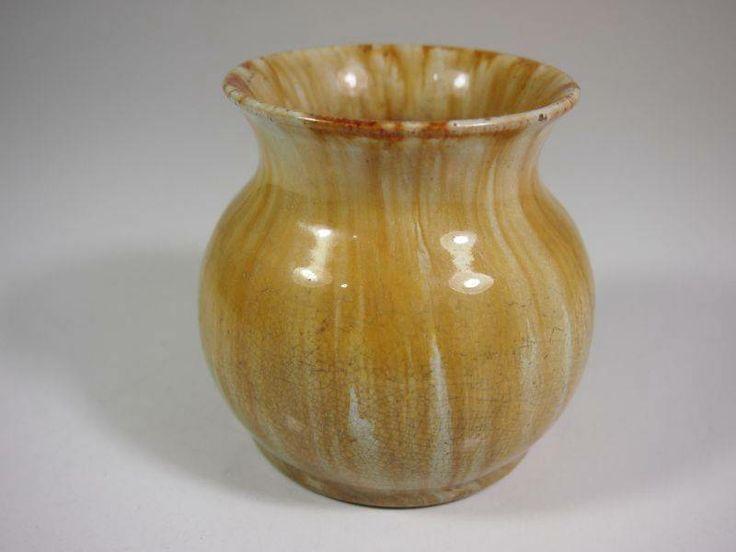 10cm x 8.5cm John Campbell Small Vase Tasmania 1933 Australian Pottery Signed | eBay