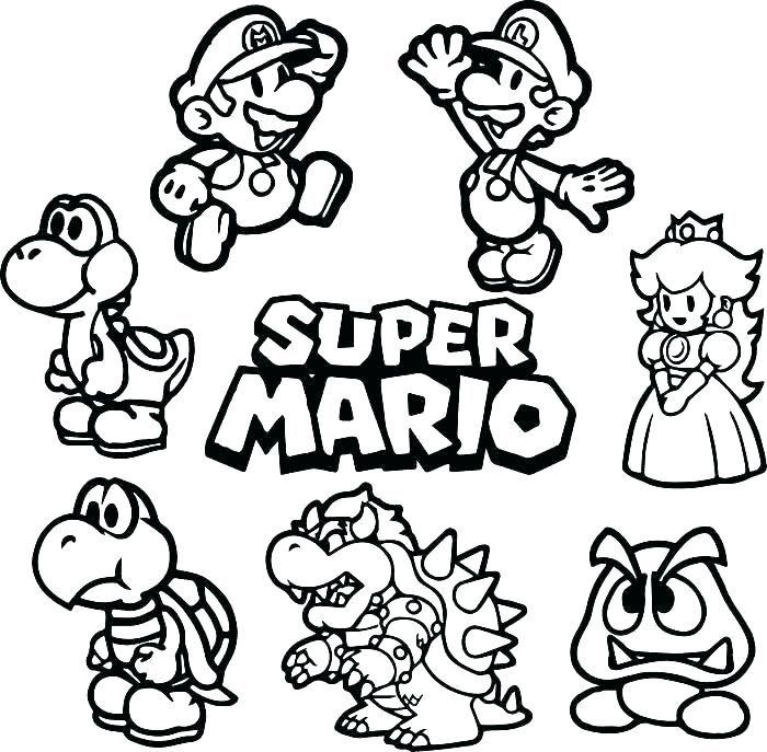 Mario Color Pictures