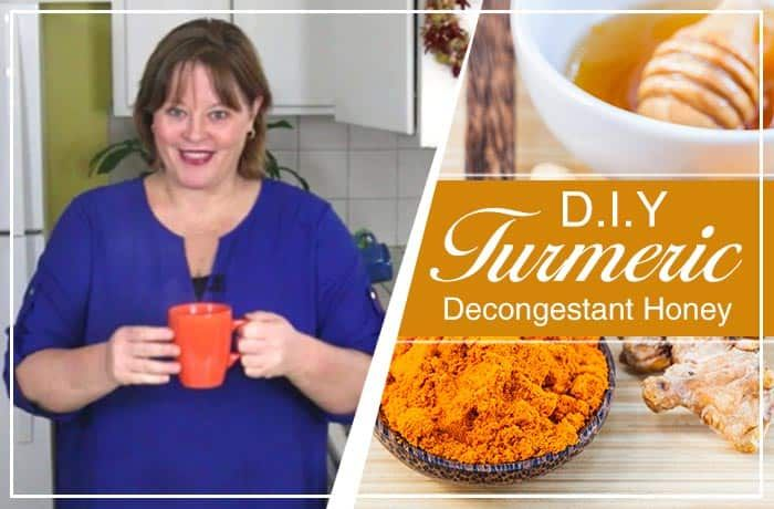Kurkuma Decongestivum Honey - Living Awareness Institute alleen een verkoudheid met een loopneus