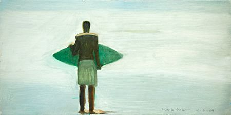 """Skimboarder"" by Hank Pitcher at Sullivan Goss"