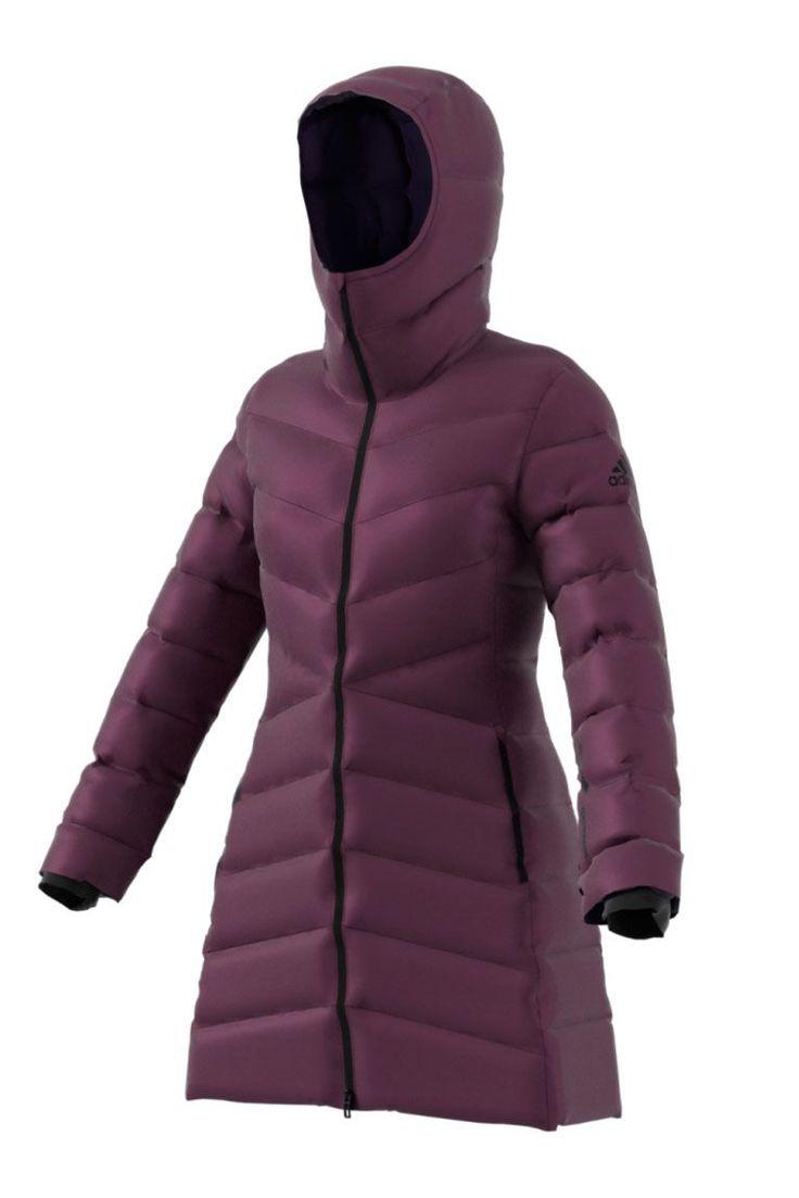 Down Coat: Adidas Outdoor Nuvic - GoodHousekeeping.com #RaincoatsForWomenWeather