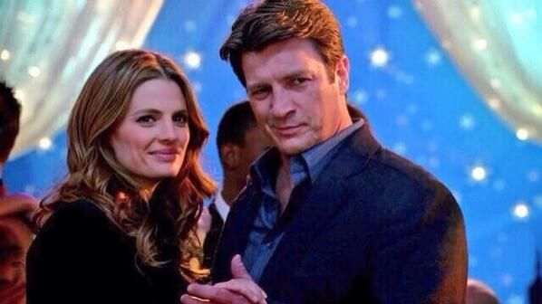 Beckett and Castle . I love this photo!!!