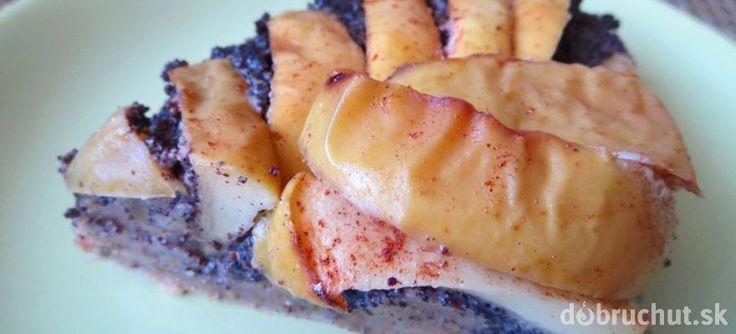 Fotorecept: Chia makový koláč s jablkami