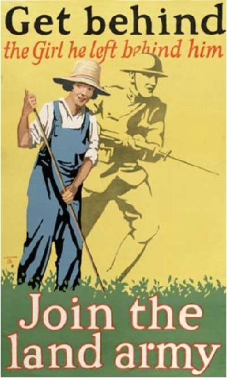The Land Army, WWI - America