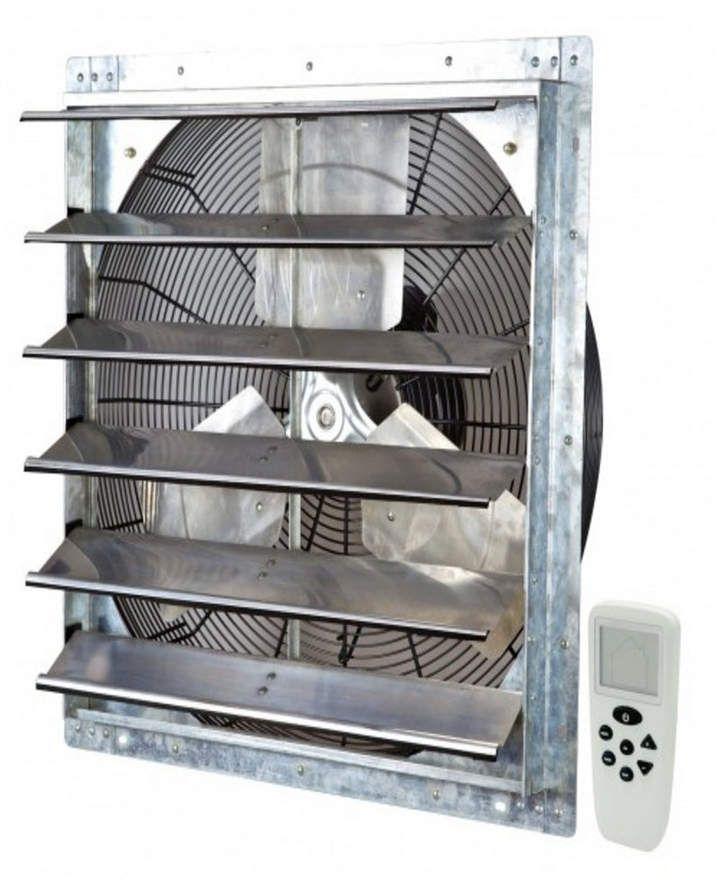 iliving 24 exhaust fan wall mounted