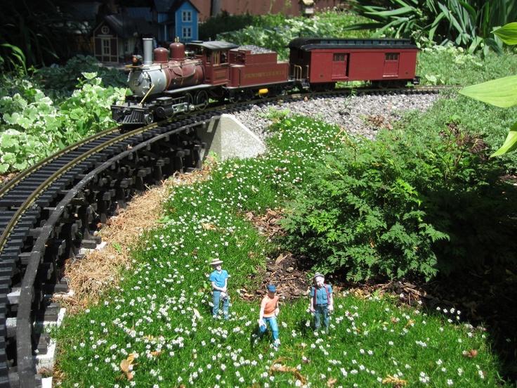 266 best Garden Railroad images on Pinterest Garden railroad