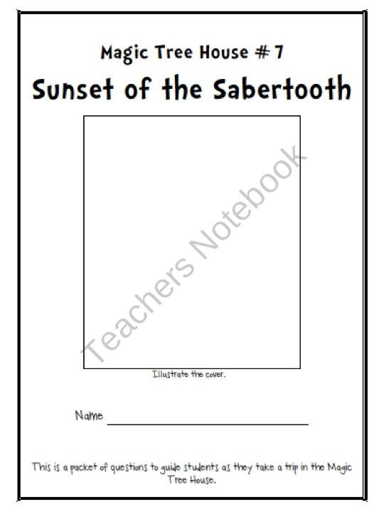 magic tree house sunset of the sabertooth book report Sunset of the sabertooth (magic tree house) and over one million other books  are available for amazon kindle  the #1 bestselling chapter book series of all  time celebrates 25 years with new covers and a new,  write a customer review.