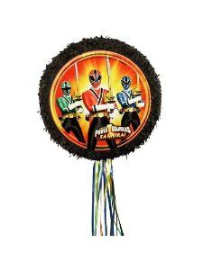 Power Rangers Samurai Pull String Pinata 18 Inch Diameter Colorful Party by Ya Otta Pinata. $12.58. pull string. Your heroes can practice their Samurai skills on the Power Rangers Pull String Pinata, or just use the pull strings. This party supply includes a black pinata with a picture of the Red, Green and Blue Rangers holding swords.