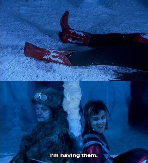 The Mighty Boosh ,the tundra