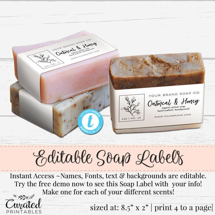 Best 25+ Soap labels ideas on Pinterest Product labels, Label - ingredient label template