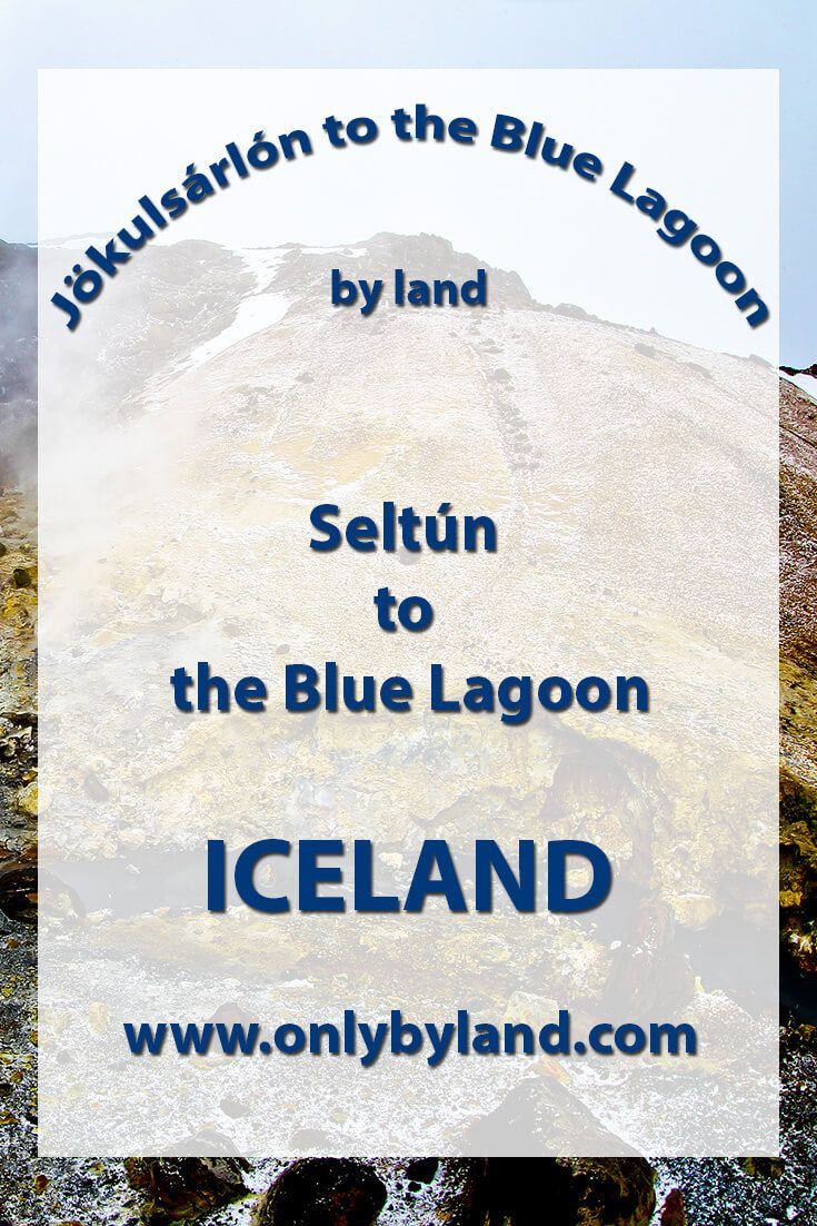 A visit to the points of interest of Seltún including mudpots, fumeroles, hot springs, hiking before driving to the Blue Lagoon