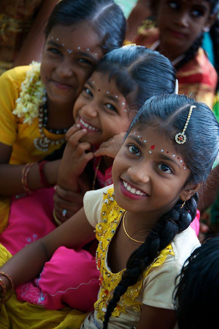 Sonrisas de la India.