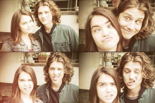 Cute couple, love love love Alex Saxon