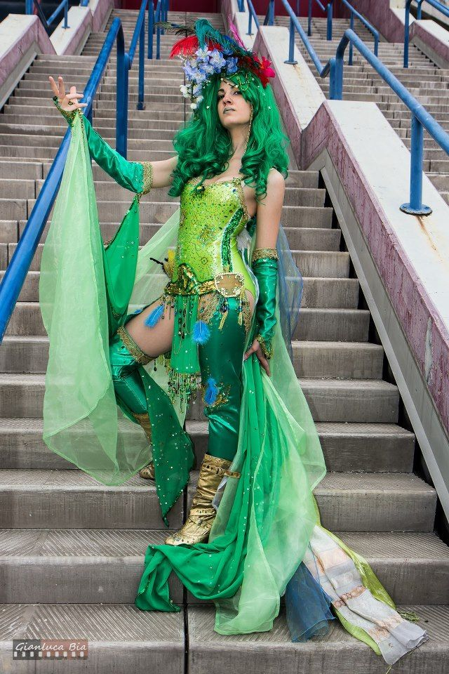 28 best images about Green haired characters on Pinterest ...