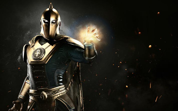 Doctor Fate, superheroes, 2017 games, Injustice 2