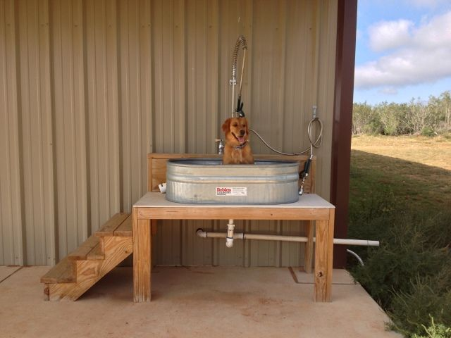 Best 20 dog bath tub ideas on pinterest for Building a dog kennel business