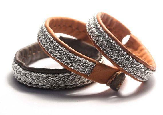 Men's Swedish Lapland bracelet sami style by simplyyoujewelry, $65.00