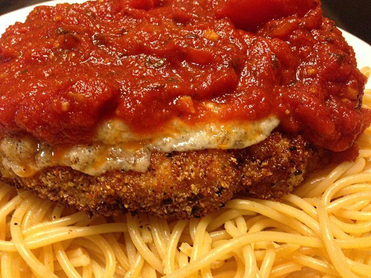 Authentic Chicken Parmigiana recipe