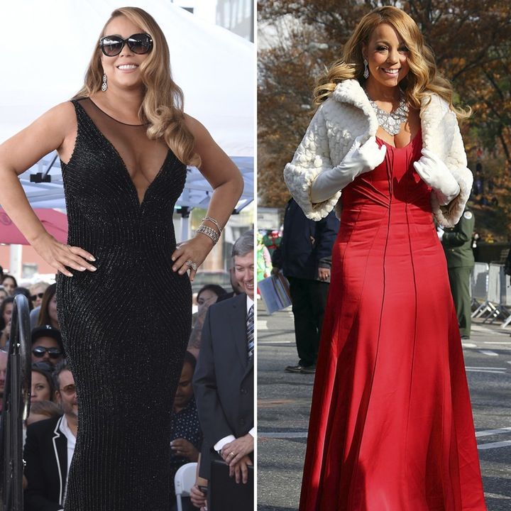 OMG!: Mariah Carey Shows Off Drastic Weight Loss at Macy's Thanksgiving Day Parade