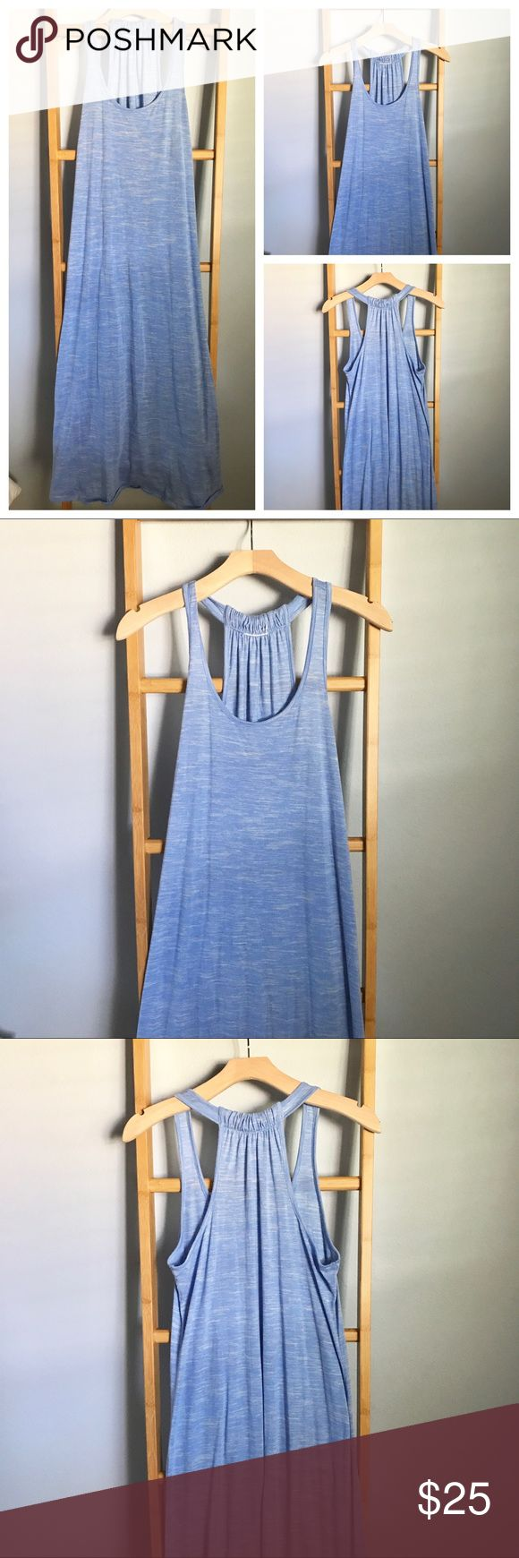 ‼️SALE‼️Light blue MAXI dress Great for SUMMER!!☀️ Love this maxi and is perfect for your next vacation. Great with sandals and a fab hat or wear as a coverup over your bikini👙 Light blue. No size tag but fits M/L. #'s: vacation, tropical, getaway, comfy, soft, ocean, lake, holiday. Dresses Maxi