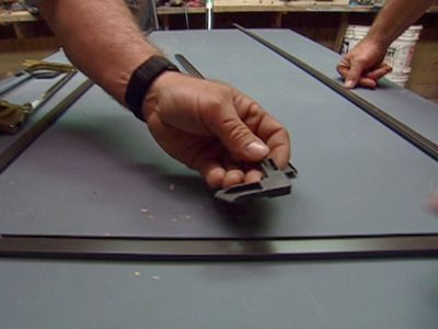 how to build a window screen replacement, text + pics